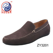 2014 new design casual leather men shoes