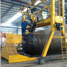 2015 SHUIPO New Product Automatic Welding Machine for Circumferential Seams of Irregular Shaped Tank Auto Fuel Tank Body Welding