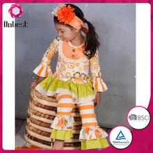2015 new design fall children's boutique clothes