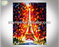 el arte pop lienzo de la torre eiffel de pintura al óleo