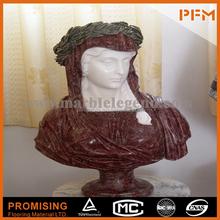 2014 vente chaude marbre naturel made sculpté à la main buste féminin marbre bustes