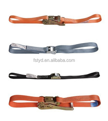 6m J-Hook Ratchet tie-down, Ratchet tie-down 5T, 300ft Solid Braid Nylon car truck strap Rope
