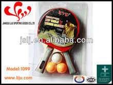 liju Table Tennis Set 2 Rackets+3 Balls,Racket,bats