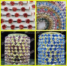 Wholesale Fashion Rhinestone Chain Decoration for Garment Accessories in Roll
