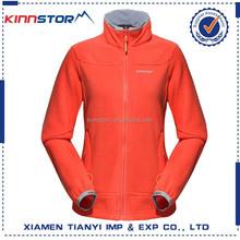fleece jacket european style 100% polyester soft coat