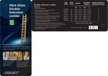 Everlas Fiber Glass Double Extension Ladder