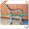 Alibaba china sand casting foundry OEM custom design made outdoor furniture cast iron bench ends
