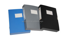 office stationery,new brand pp document box file,plastic stationery file