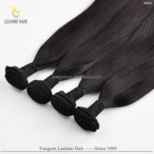 Big Discount Brand Name Best Price Unprocessed No Tangle Dyeable No Shedding weft one piece human hair extensions