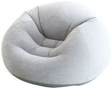 Intex Inflatable Beanless Bag Chair Grey/inflatable bean bag chair