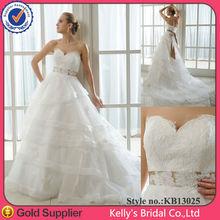 YYL novas rendas chegam e vestido de noiva de organza