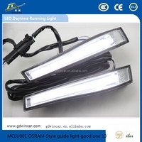 Ultra Brightness Top Quality fit for all car Light DRL for OSRAM-Style guide light good one LED Daytime Running Light