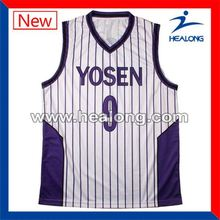 Healong Make Your Own Discount Breathable Basketball Jersey