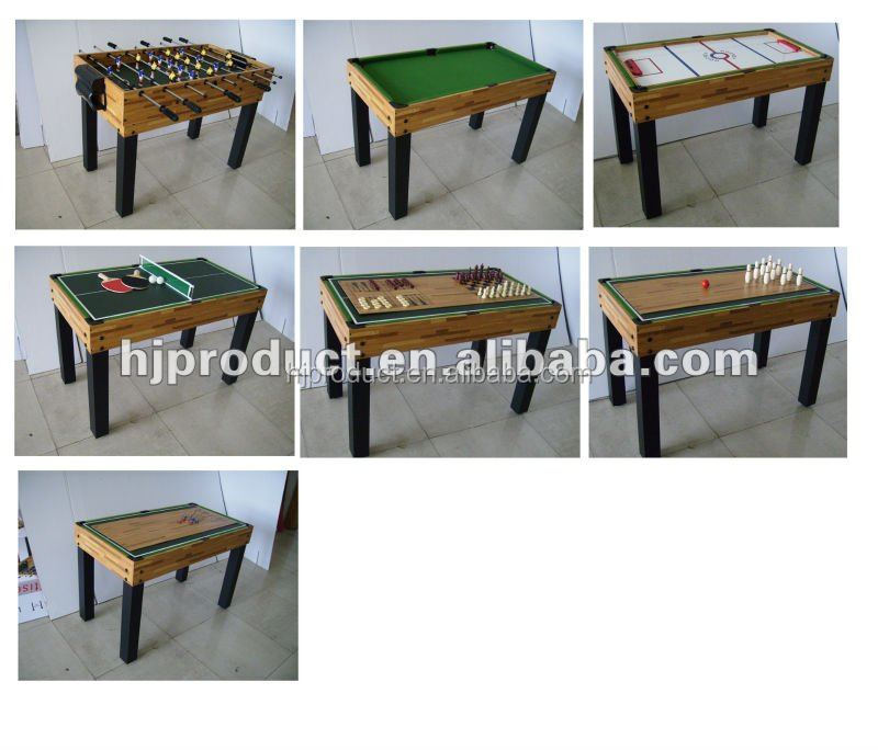 High quality and durable 10 in 1 multi game table buy for 10 in 1 games table