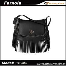 2015 guangzhou wholesale latest designs handbags hot selling fashion women tassels bags