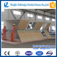 Chinese new design prefa house - folding container house used for military camp