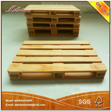 Lovely Wood Mini Pallet With Customize Logo Holiday Decoration Wooden Crafts