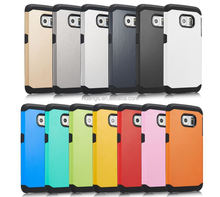 Low price china mobile phone Colorful Heavy Duty Hybrid Rugged Hard for samsung galaxy s6 covers cases alibaba china