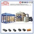 QT10-15 fully automatic concrete paver brick machine