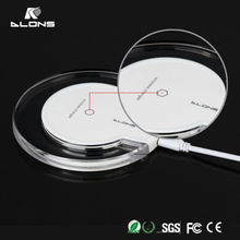 CE,RoHS,FCC Approved qi wireless phone charger,OEM quick deliver power sockets For Samsung S6