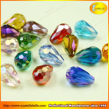 Wholesale Colorful Crystal Drop Beads For Crystal Jewelry Accessories