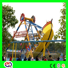 LED lights pirate ship for sale with ISO,BV approval fun fair rides