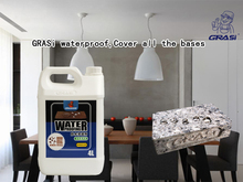 Concrete waterproof and alkali resistant hydrophobic agent