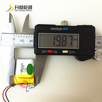 new battery SD 502025 rechargeable 3.7v 200mah li-polymer battery 502025 with CE, MSDS, Rohs