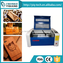 high precision 50W YQ-N5030 wooden mobile phone shell laser engraving machine