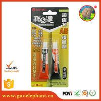 Guo elephant good quality non-toxic waterproof plastic glue water based epoxy resin