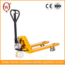 ISO certificate Nylon PU or Rubber CE 3 Ton Pallet Truck