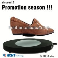 new invention ! magnetic levitating led display stand for shoe woman,shoes in agra