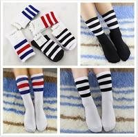 2015 New warm lovely Girl Female Lady Socks Sport Women Socks Bamboo Women's football Socks bulk Cotton