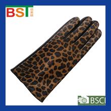 BST52269 TIANJIN BIOSUNTEX 100% sheepskin wholesale BSCI certlficate Fashion Ladies leather glove