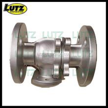 steel die casting industrial valve body investment casting air release valve body casting customized