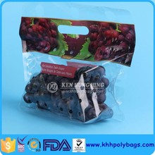New Products 2015 Zipper Plastic Fruit And Vegetables Bags