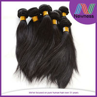 High quality double wefted full ends natural color hair styles short layers