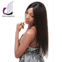 Alibaba express 100% human hair wig Peruvian Indian Malaysian Brazilian straight lace front wig curly human hair wig