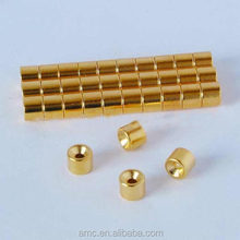 Disc Neodymium magnet with gold coating