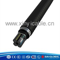 3 cores PVC insulation and jacket shielded power cable