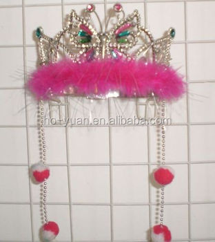 promotional princess crown for girls