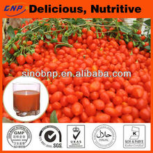 2014 Hot Sale Xinjiang Goji Juice 100% Pure and Natural goji juice