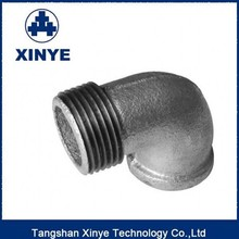 gas oil air water galvanized malleable iron pipe fittings,street elbow