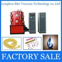 jewelery gold colorful film decoration physical vapor deposition machine/arc ion plasma coating machine manufacturer