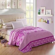 wholesale 3d embosses blanket pure color coral fleece flannel blanket