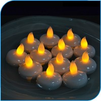 Birthday Candles New Products Led Candle Lights Submersible Plastic Warm White Floating Candle lights