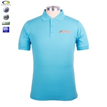 High quality customized embroidered pima cotton mens polo shirt design
