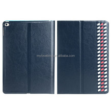 guangzhou factory supplier flip leather case for ipad5, various colors available