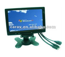 """embedded 7"""" touch screen lcd monitor hdmi/vga/dvi"""