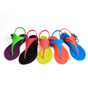2015 fashionable new style fuzzy flip flop slippers
